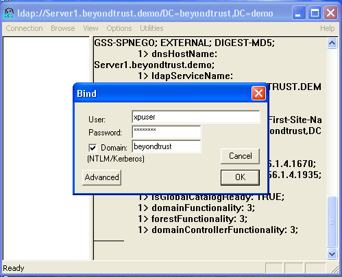 Accessing Active Directory Information with LDP