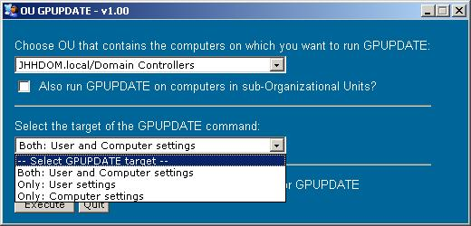 How to Force Remote Group Policy Processing