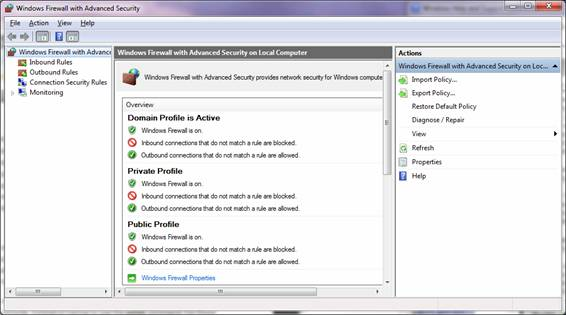 What's new in the Windows 7 Firewall?