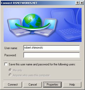 Configure a VPN Connection Using Windows XP
