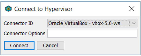 Connect to Hypervisor