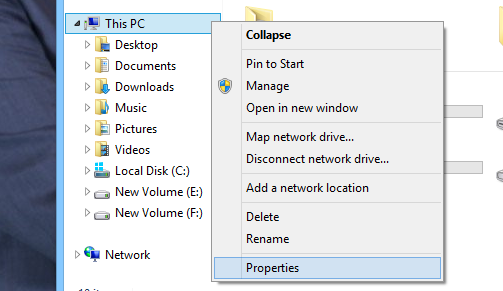 How to disable LSO step 1 - Computer properties