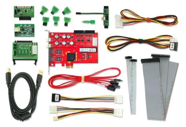 PC-3000 disk recovery tools
