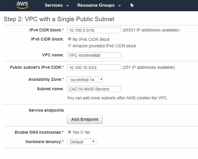 VPC with a Single Public Subnet