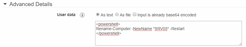 Rename server before joining to the domain
