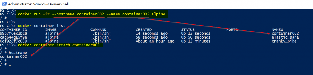 managing containers