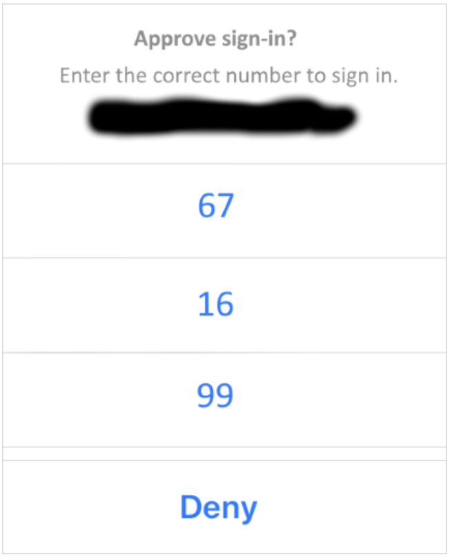 phone sign-in