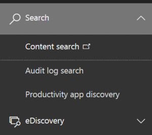Content discovery search box