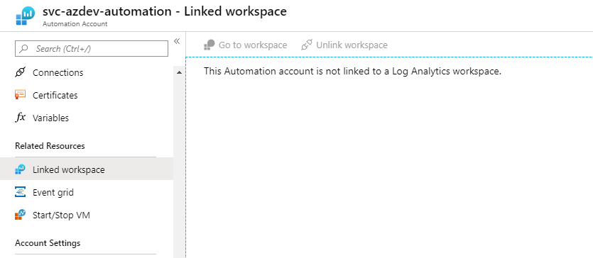Azure Automation and Log Analytics