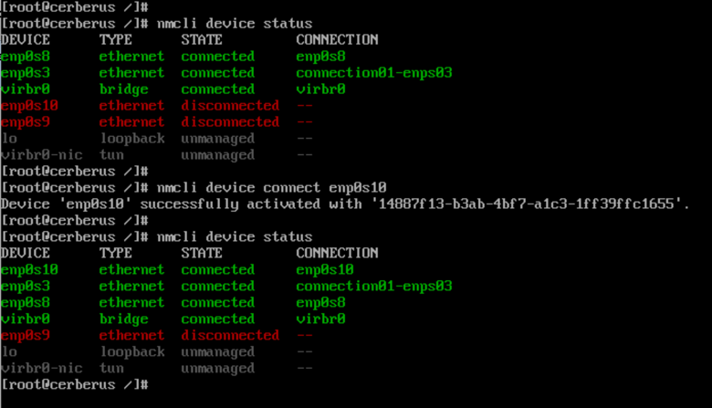 Linux network