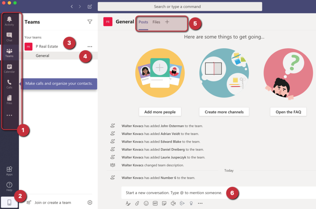 Microsoft Teams remote work