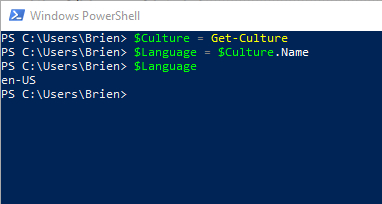 Multilingual PowerShell scripts