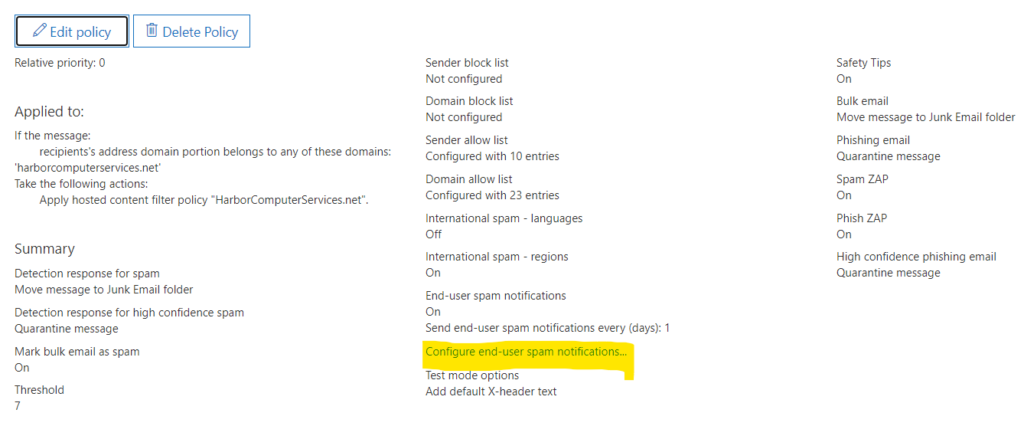Microsoft 365 email security