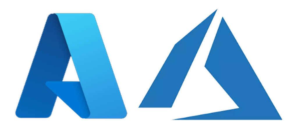 Azure logos new and old